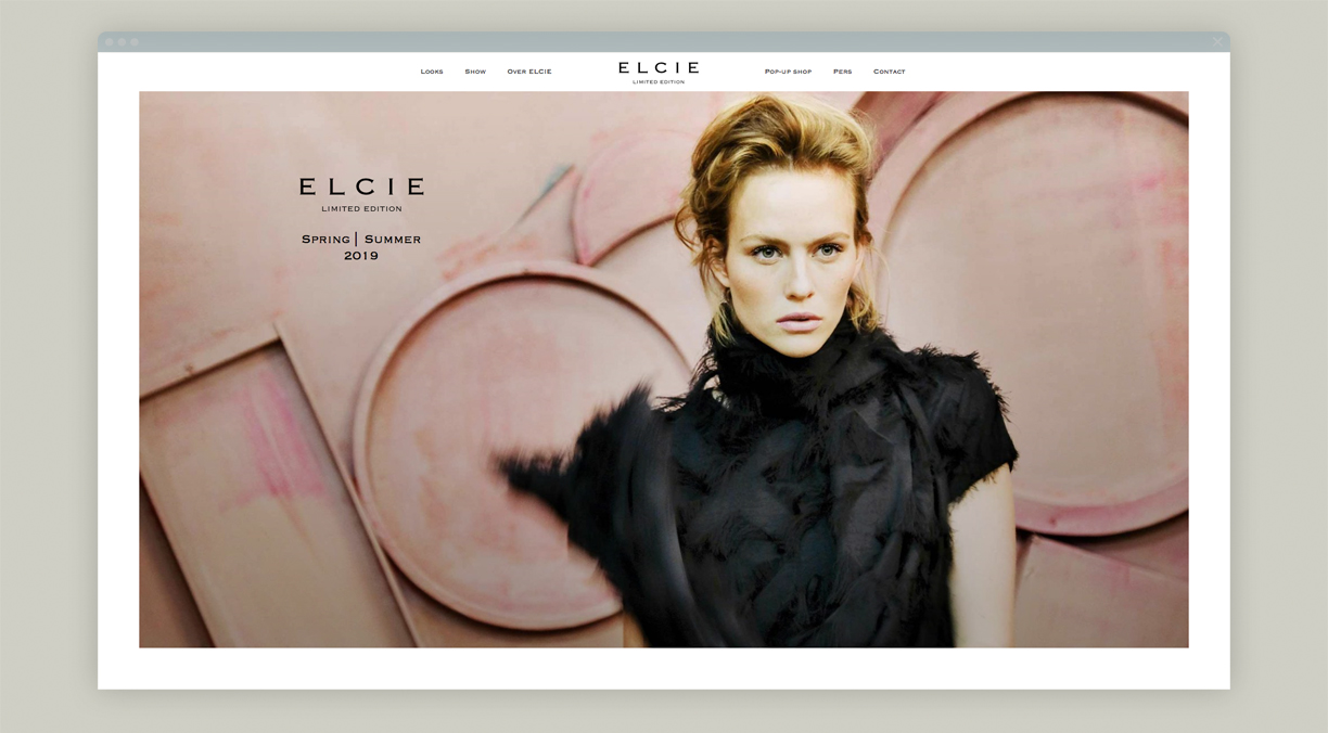 campagne ELCIE Styling 2019 website